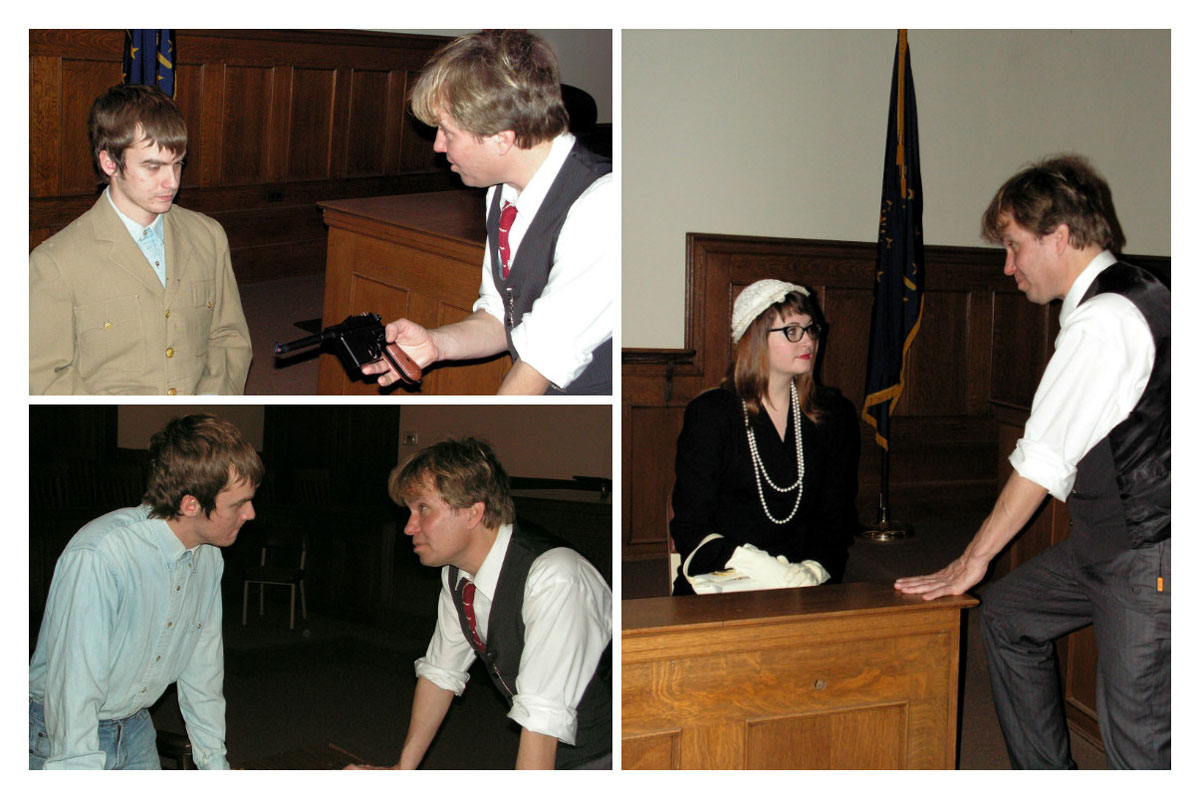 """Crown Point Community Theatre to Present """"Anatomy of a Murder"""" at Historic Courthouse"""