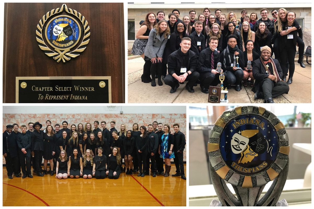 Andrean Wins Big at 2017 Indiana Thespian State Conference