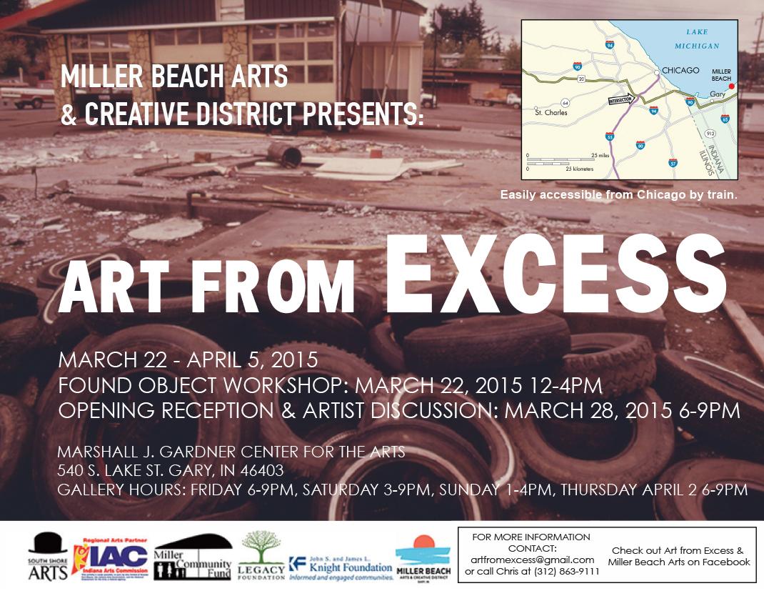 Miller Beach Arts & Creative District Briefs, March 20, 2015