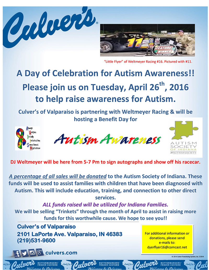 Autism Awareness Poster 2016-Valpo