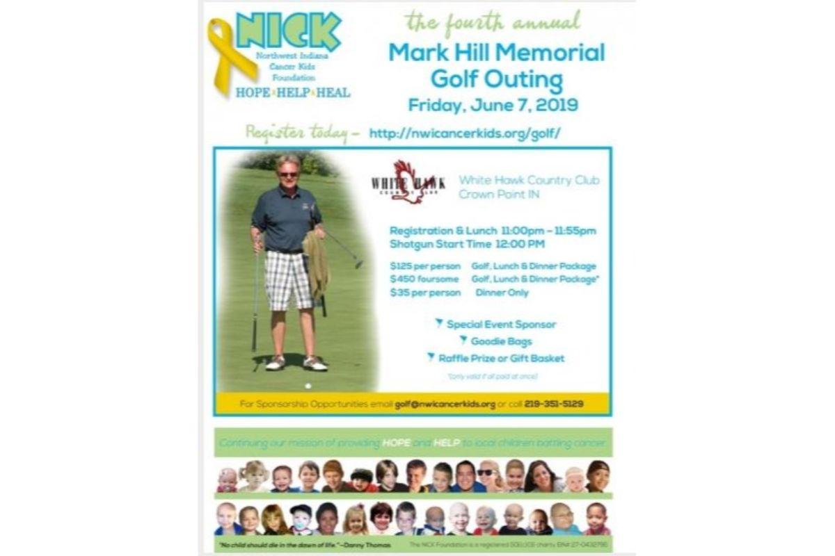 4th Annual Mark Hill Memorial Golf Outing