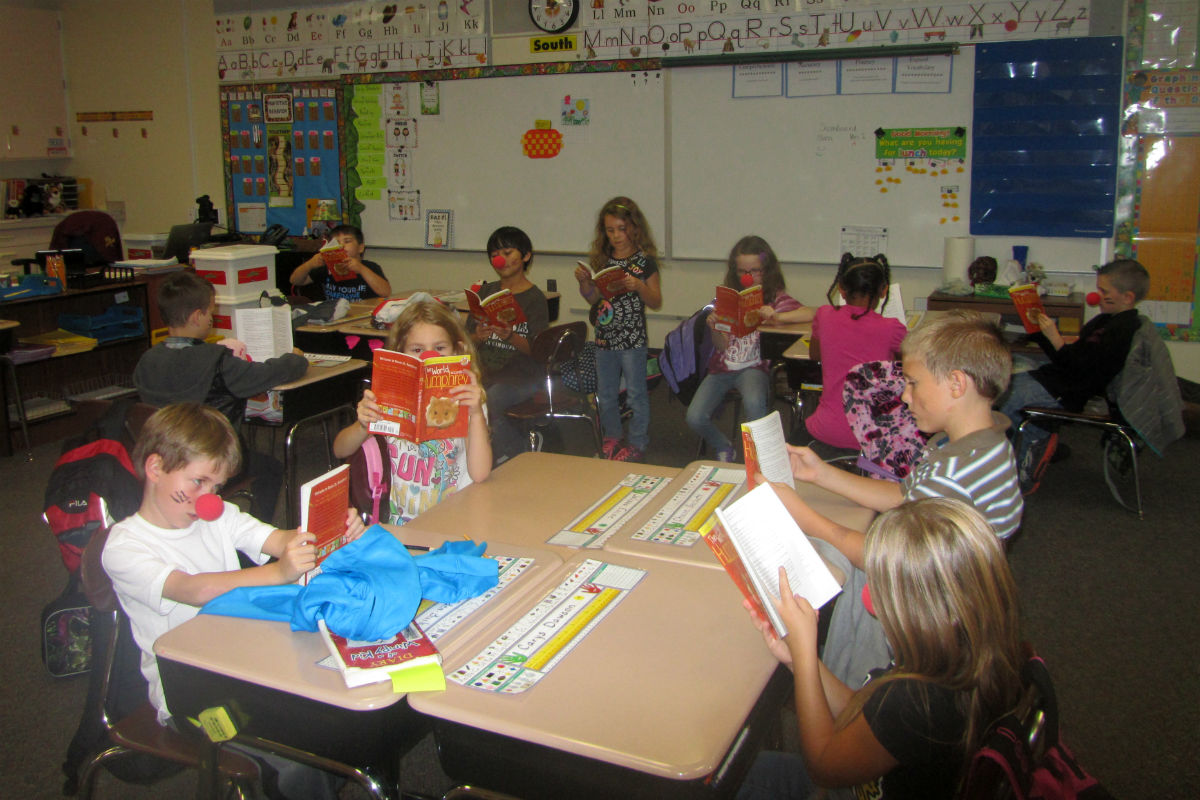 Bailly Elementary Celebrates One Book One School