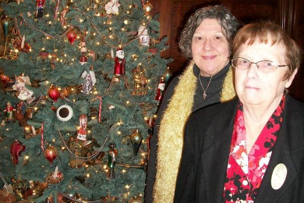 Barker Mansion Set for Holiday Season