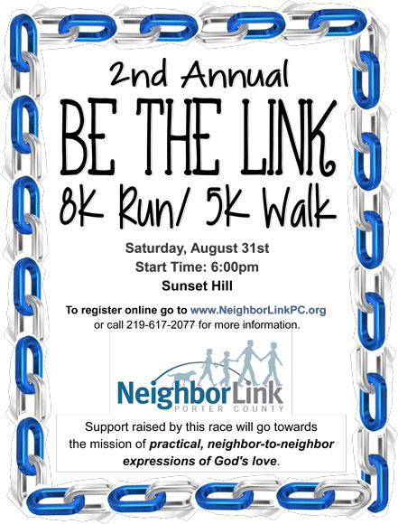 2nd Annual Be the Link 8K Run and 5K Run/Walk