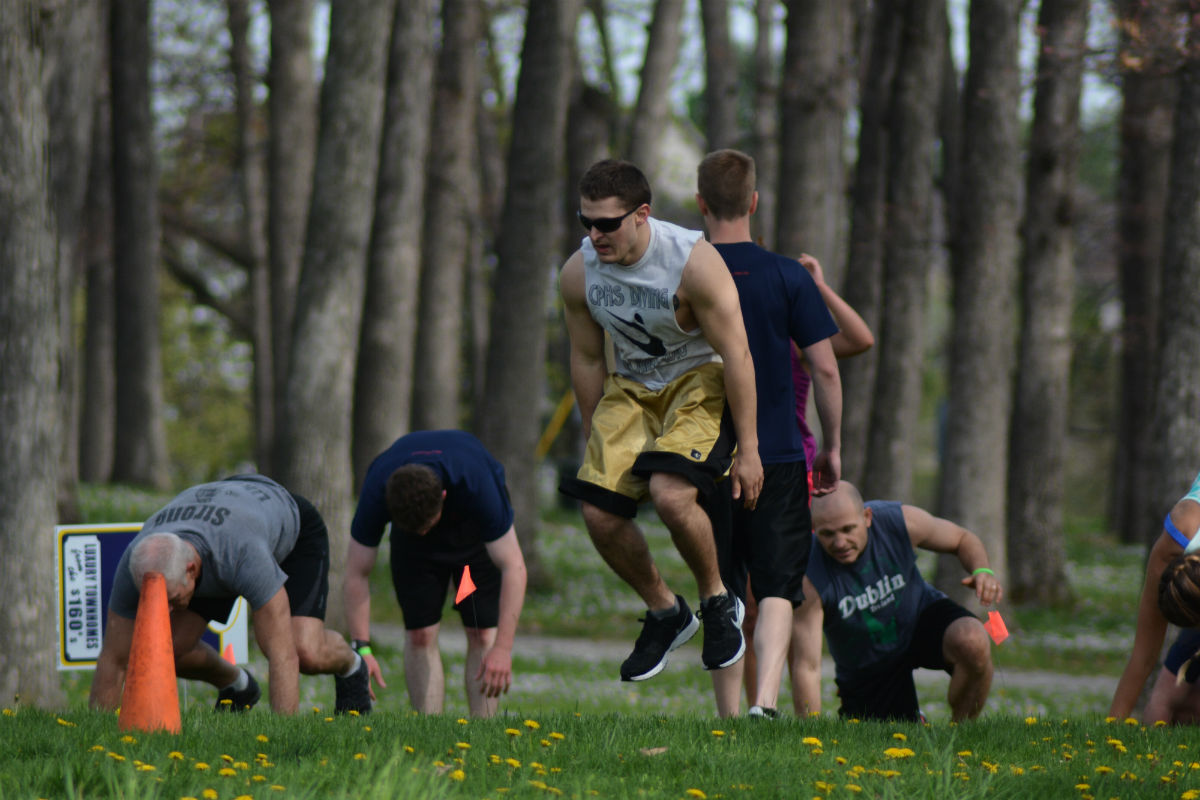 Hundreds Try to Tackle The Beast Boot Camp 5K