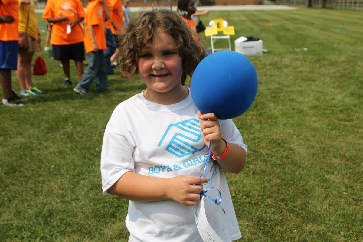 Boys and Girls Club Holds Balloon Launch for Clubs Across Northwest Indiana