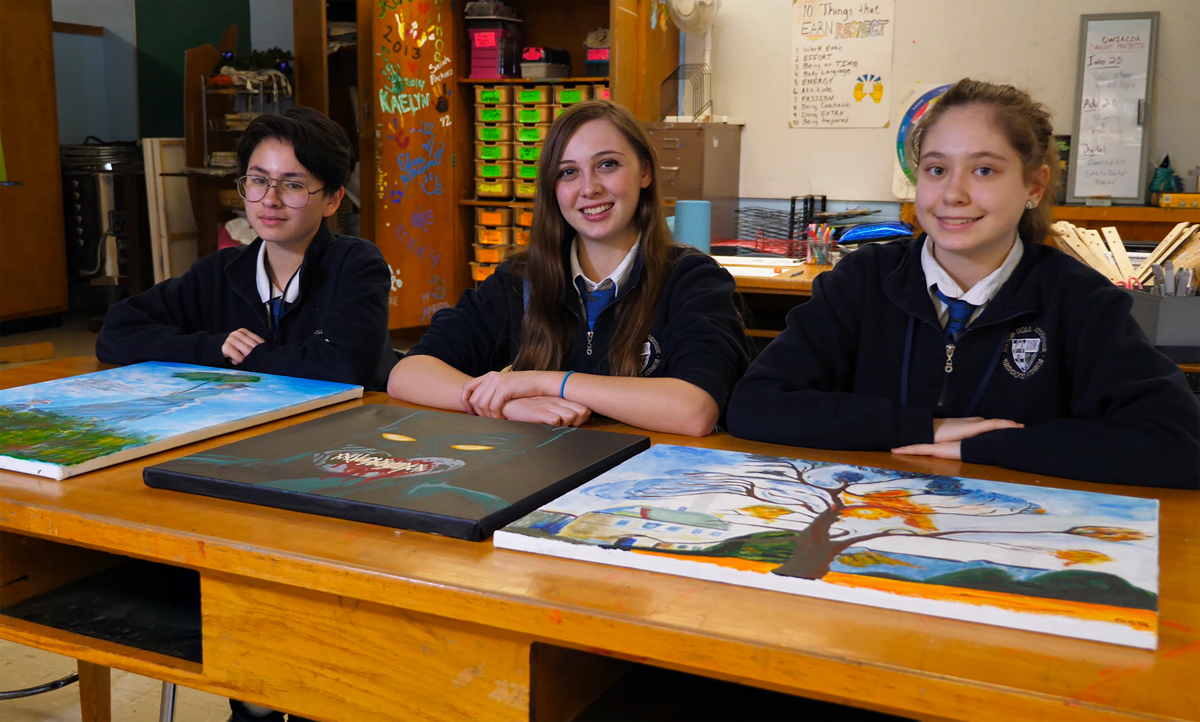 Bishop-Noll-Students-Take-Artwork-to-Next-Level-2019
