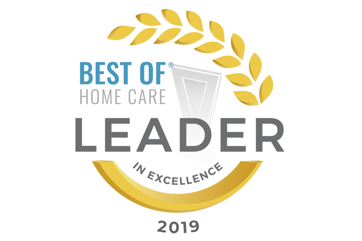 BrightStar Care of Lake County Receives 2019 Best of Home Care – Leader in Excellence Award