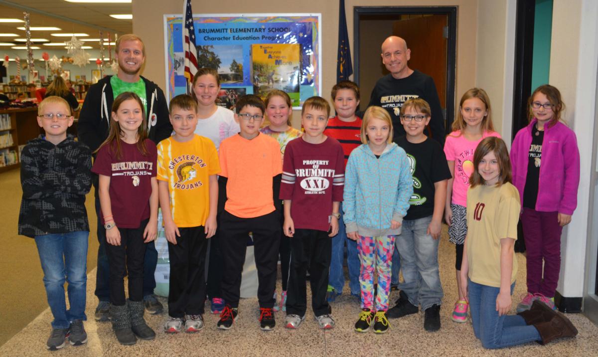 Brummitt Elementary School Makes Donation to Animal Shelter in 2015