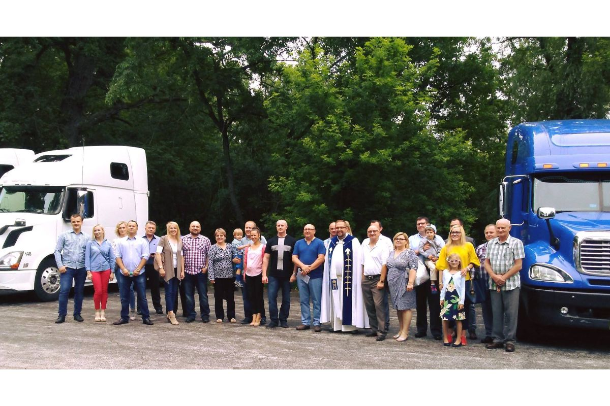 Blessing of Truck Drivers