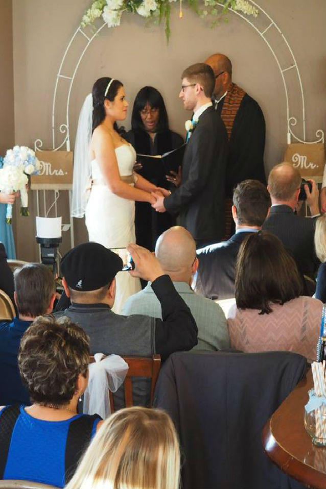 Local Cafe Makes Ideal Setting for Wedding
