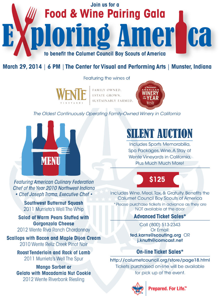 Exploring America: A Food and Wine Pairing Gala