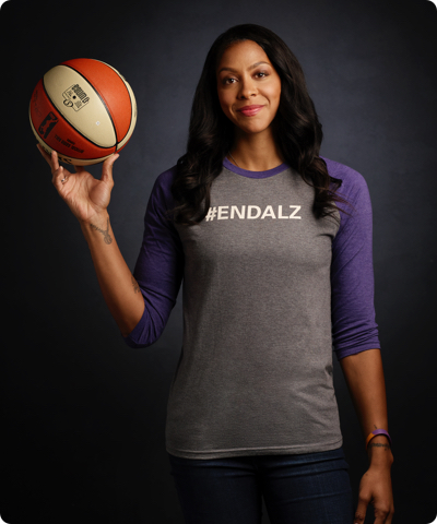 Candace Parker Puts a Full-Court Press on Alzheimer's