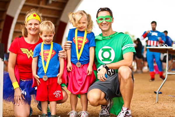 Superhero 5K Walk/Run & Fun Run for Abused, Neglected Children
