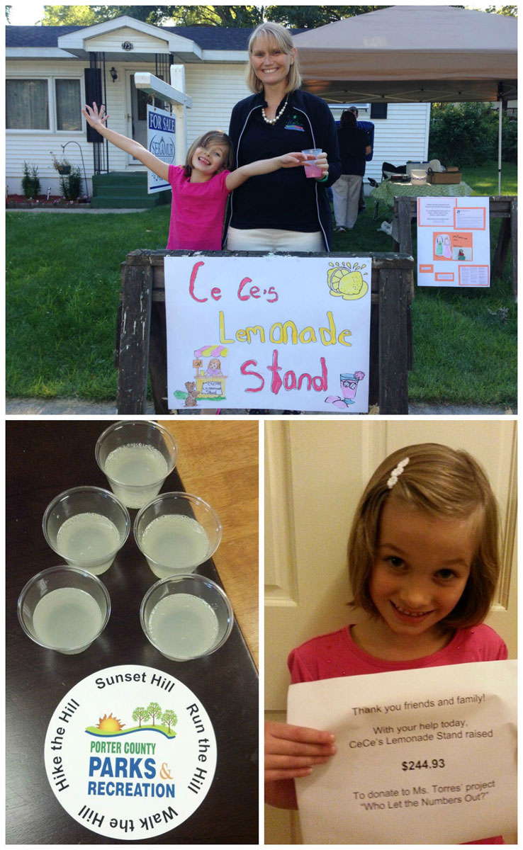 Student Raises Money for Local Kindergarten with Lemonade Stand