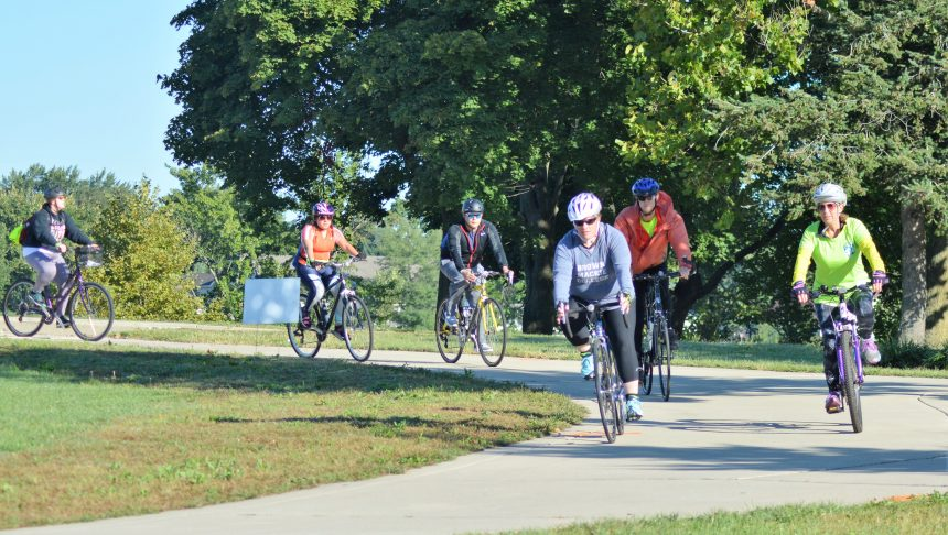 A Gorgeous Day for Bike Michiana and Walk for Hospice