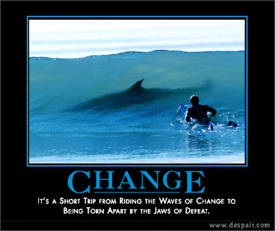 CHANGE – Embrace it, Shape It, or Get The Heck Out of The Way