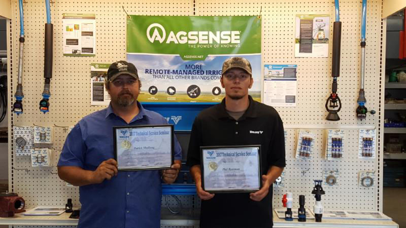 Chester Inc. Ag Systems Completes Valley Irrigations' Advanced Level 2 Irrigation Courses