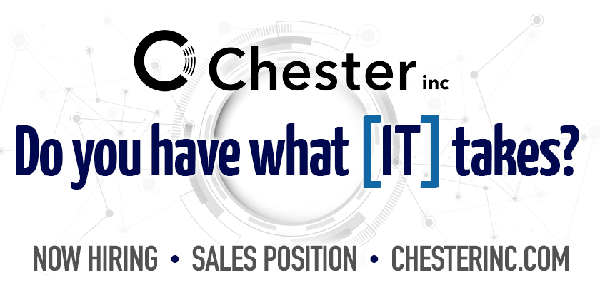 Chester IT Is Hiring!