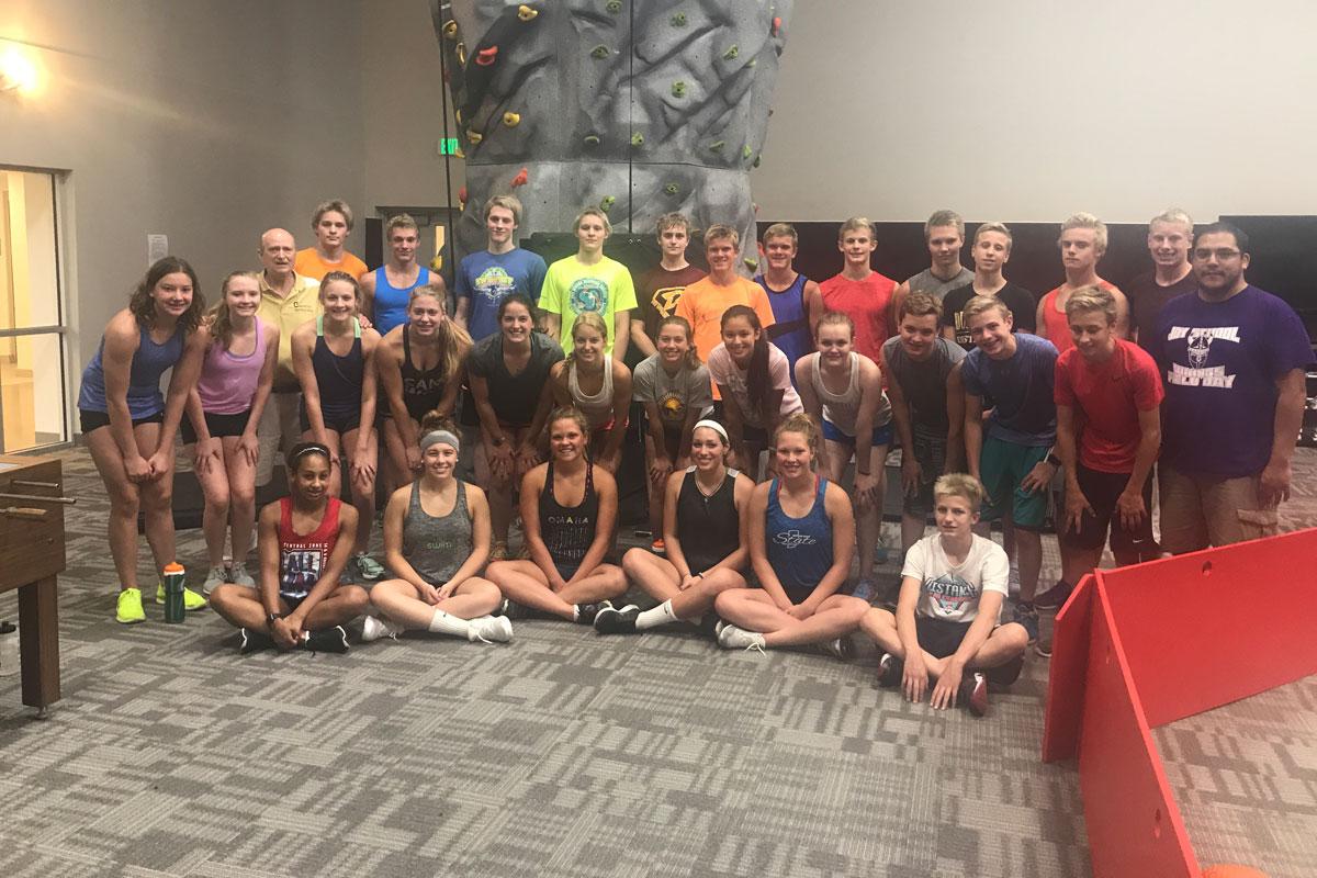 Chesterton High School Swim Team Brings Workout to New Duneland Boys & Girls Club
