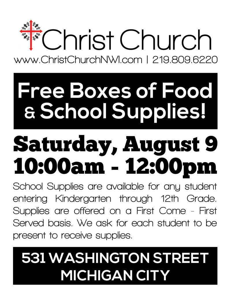 Christ-Church-Back-to-School-Pack-Food-Giveaway