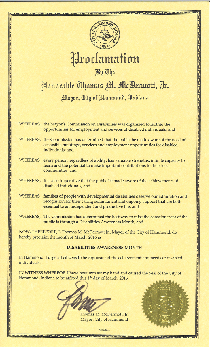 City-of-Hammond-Disability-Awareness-Month-Proclamation-2016