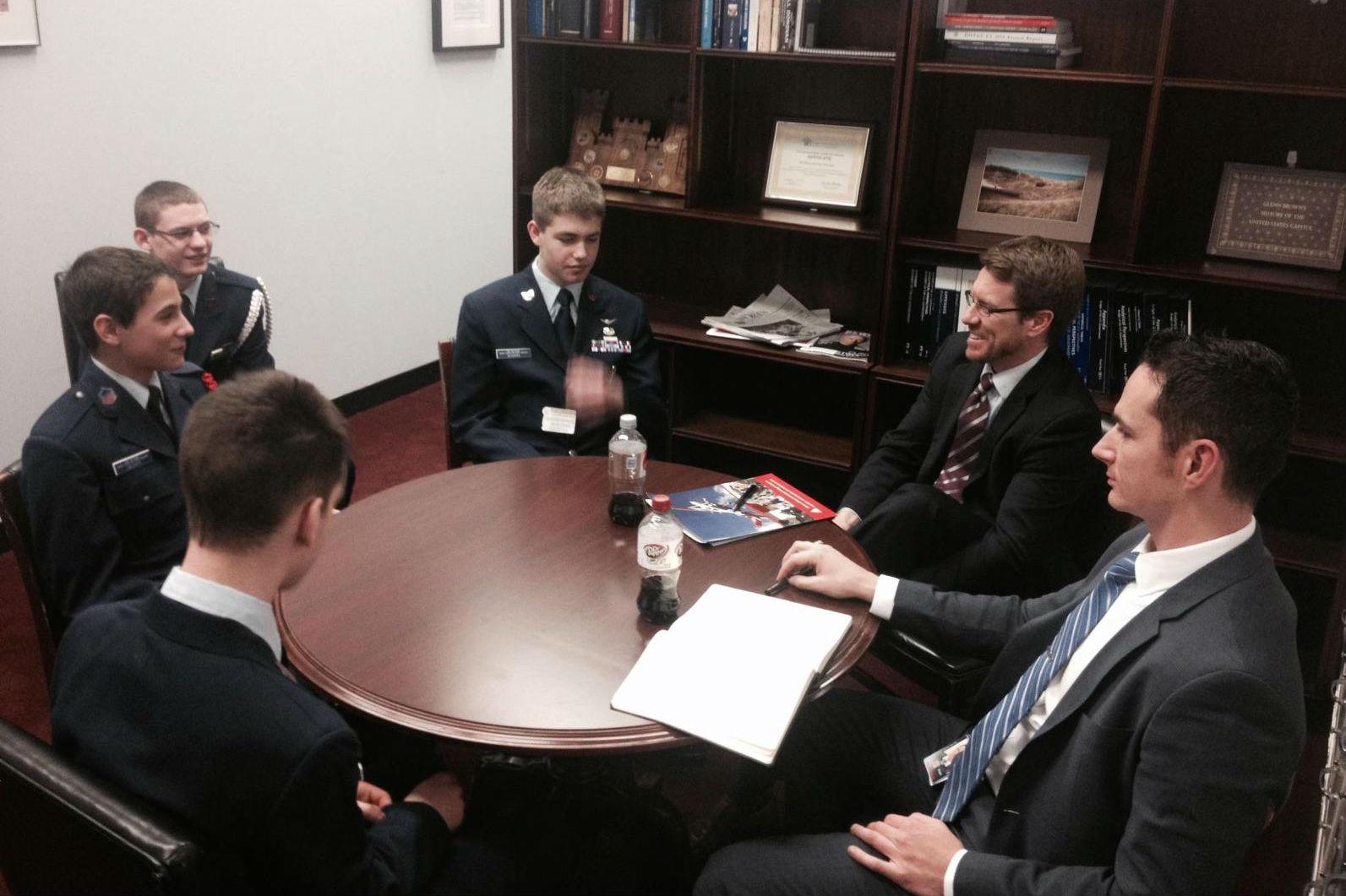 Civil Air Patrol Cadets visit Washington-2