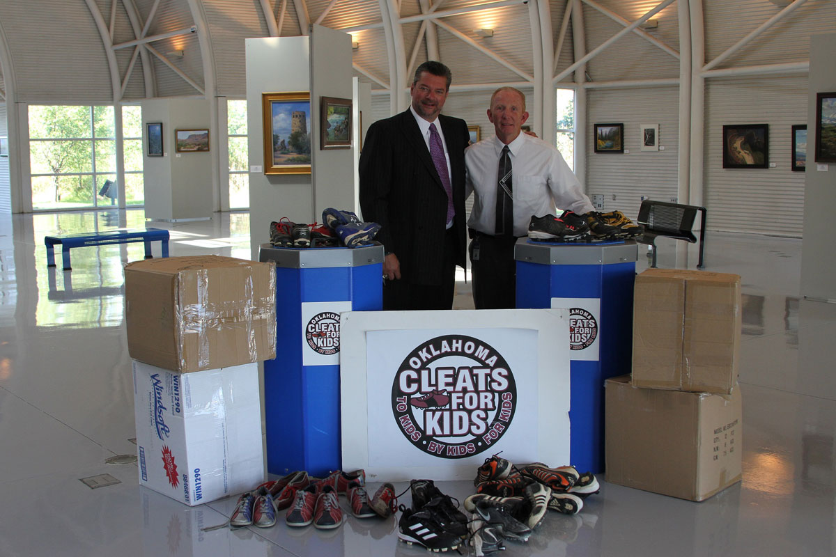 Cleats for Kids Donation