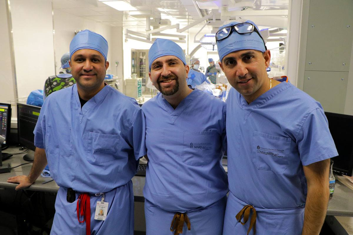 community-healthcare-system-specialists-first-in-region-to-perform-complex-minimally-invasive-heart-valve-procedure