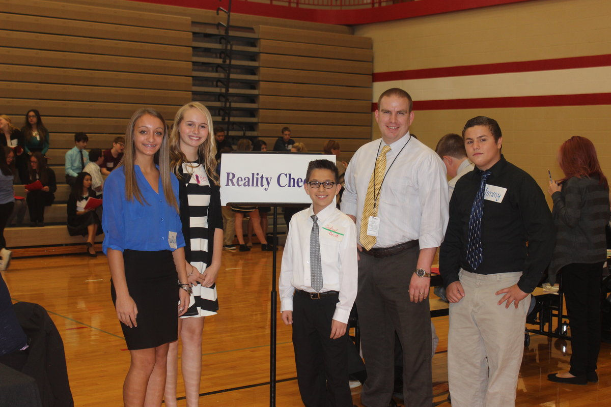 Crown Point Students Get a Taste of Reality with Crossroads Chamber