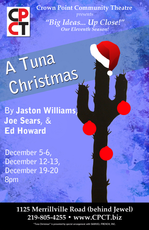"""Crown Point Community Theatre Serves up """"Tuna"""" and """"Duckling"""" for the Holidays"""