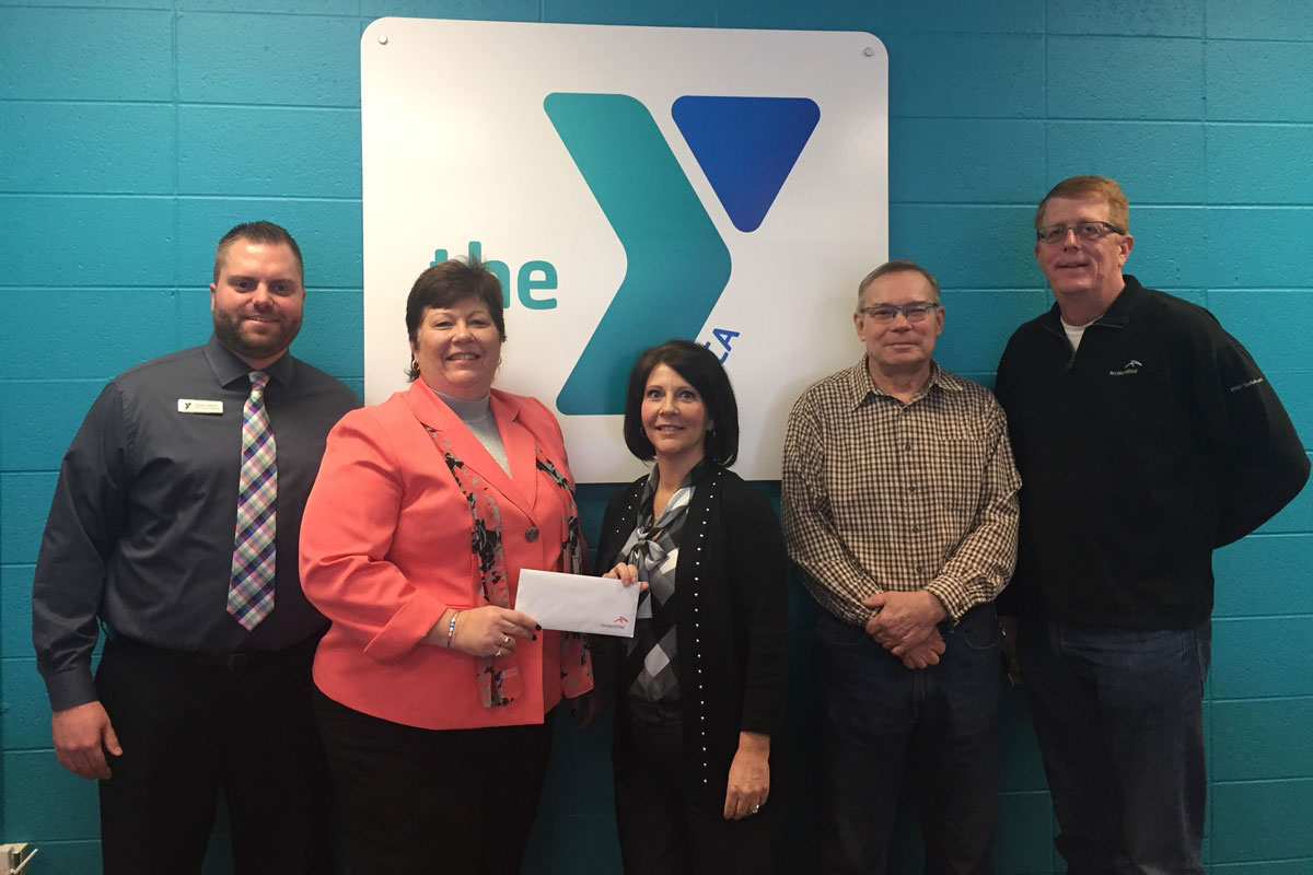 Crossroads YMCA Receives Grant from ArcelorMittal in 2017