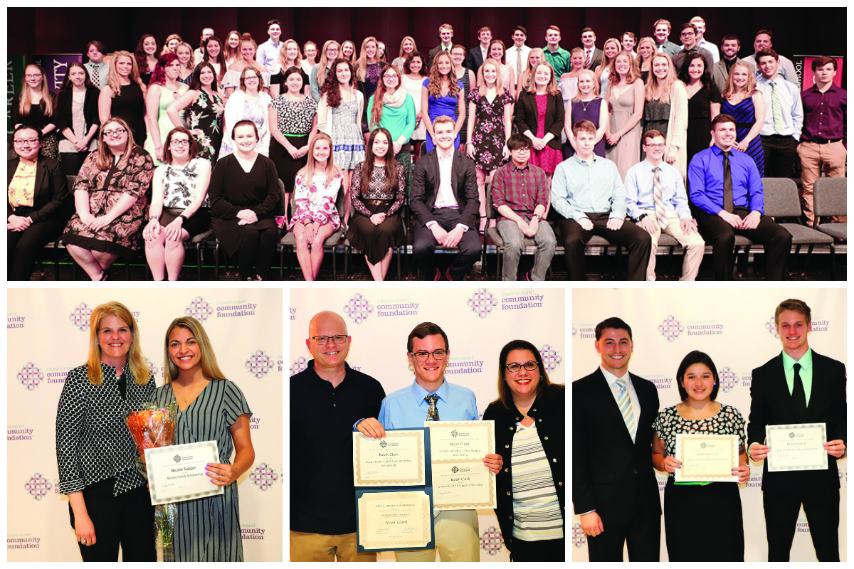 Crown Point Community Foundation Awards Scholarships