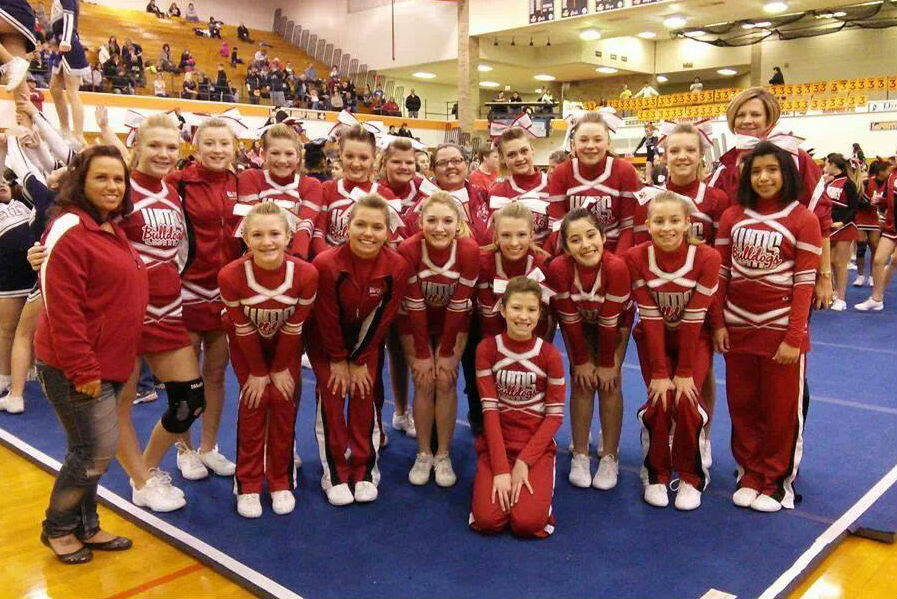 CJWMS Cheerleading Gets First Place in La Porte
