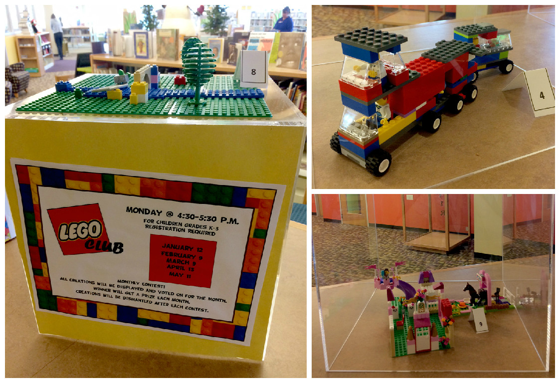 2015 Lego Club Contest at Crown Point Library