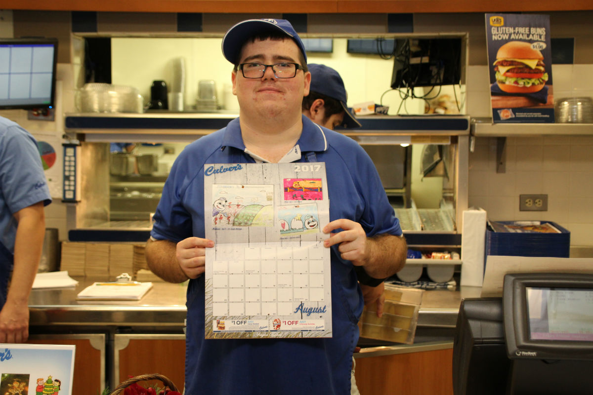 Culver's of Valparaiso Now Selling Calendars to Raise Funds for The American Cancer Society