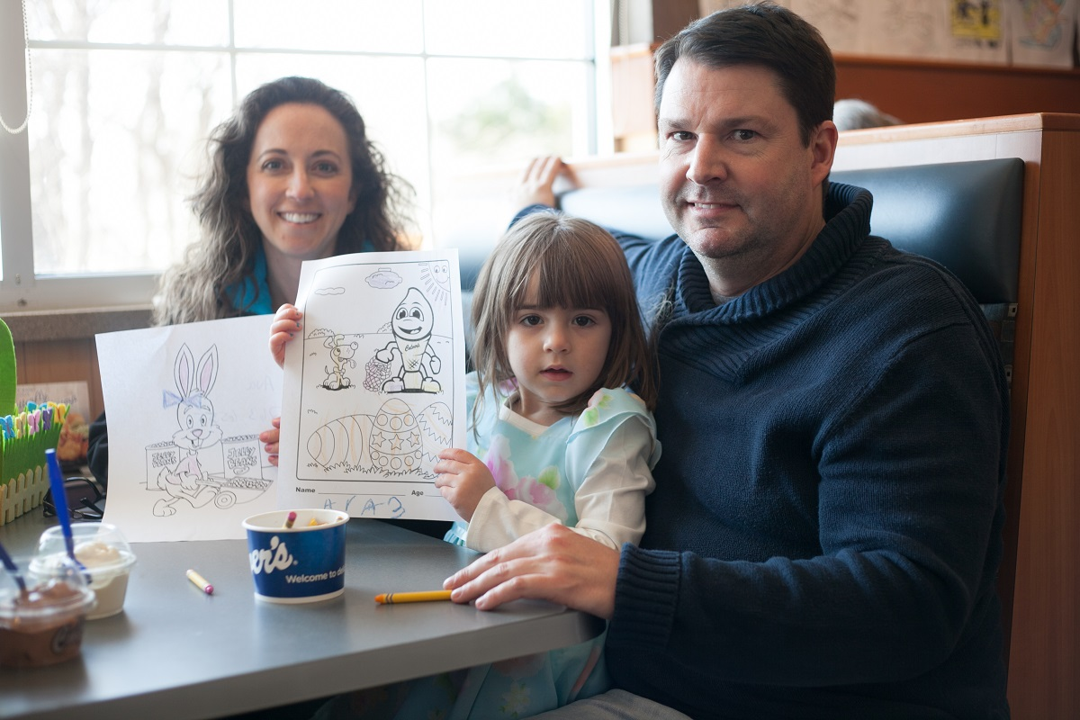 Culver's of Valparaiso Hosted a Most Colorful Easter Party