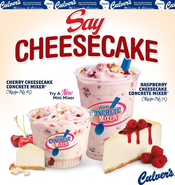 Culvers-Cheesecake