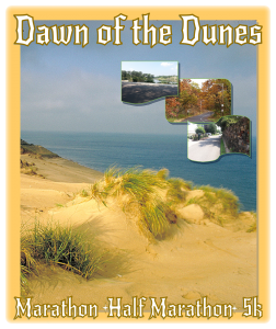 Volunteers Needed for Dawn of Dunes Marathon