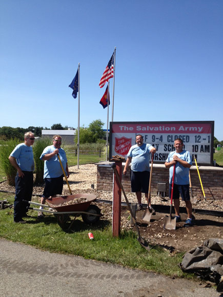 Day of Caring Supports Salvation Army of La Porte