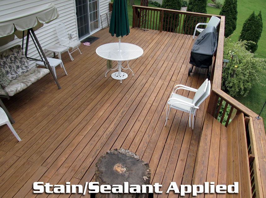 Deck & Fence Restoration with TimberSeal