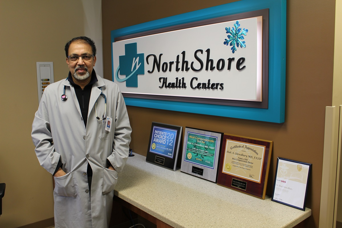 NorthShore Health Centers Welcomes Dr  Shah Chowdhury into