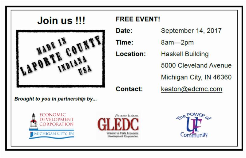 Economic Development Corporation Michigan City Monthly Update, June 2017