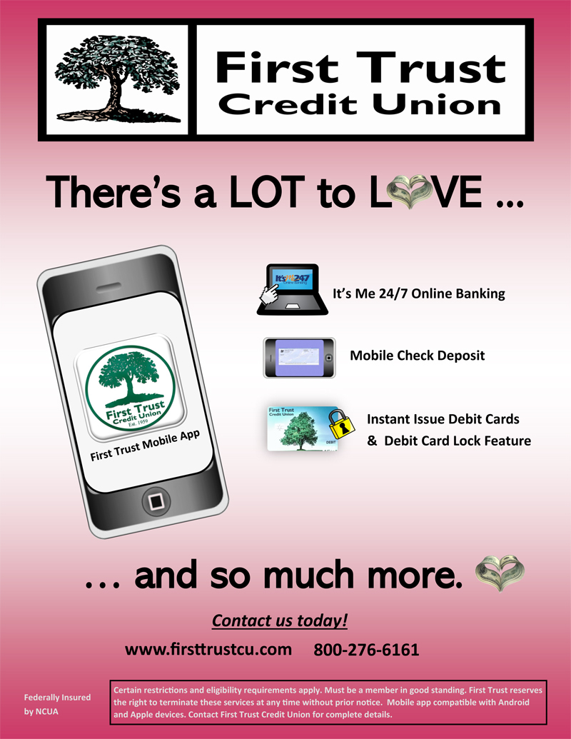 First Trust Credit Union Has a Lot to Love
