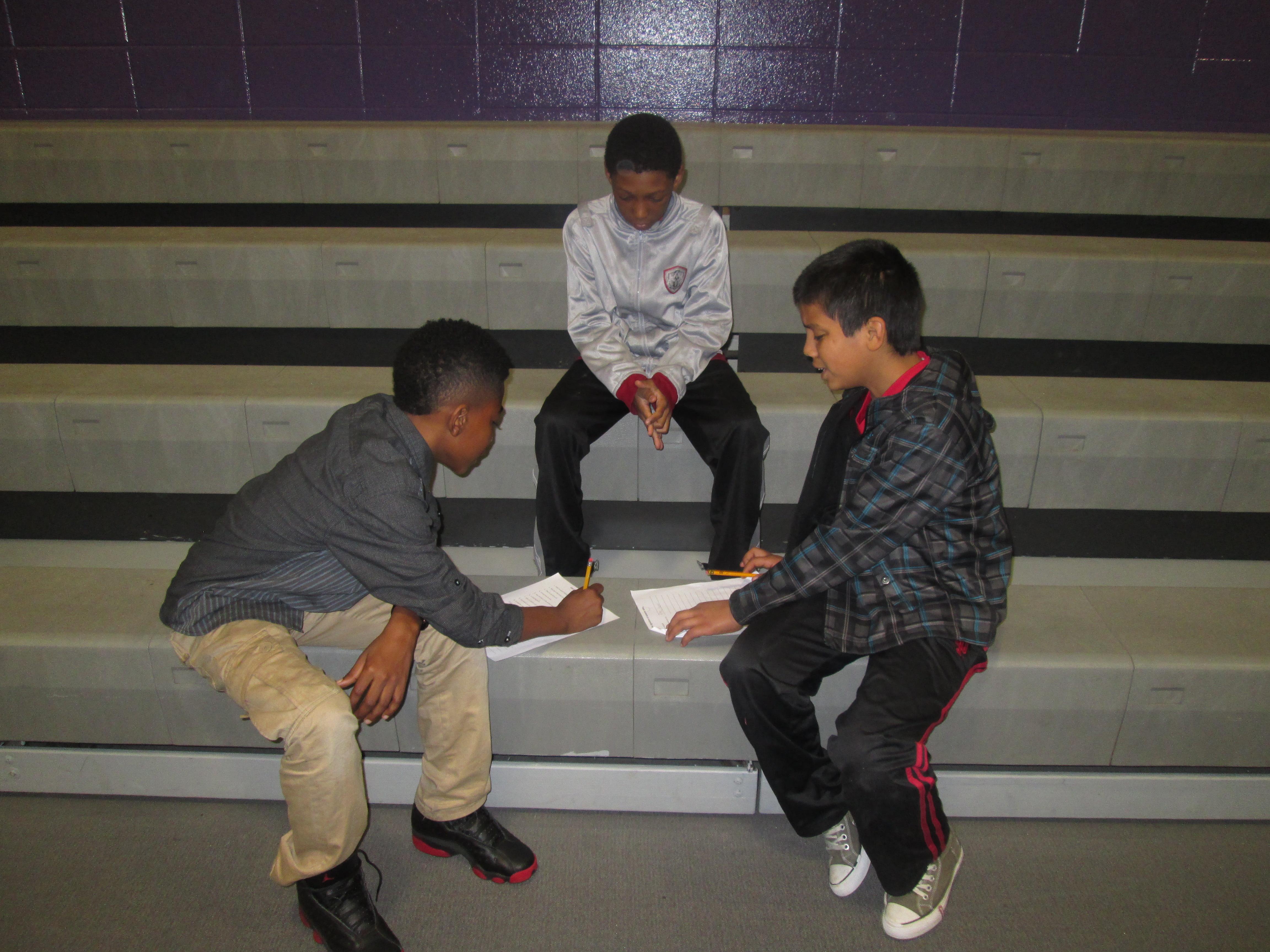 Merrillville Fourth Grade Students Meet Pen Pals