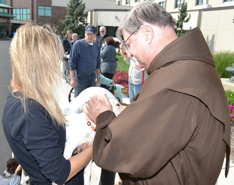 Franciscan Health Crown Point: Feast of St. Francis Brings Blessings to Pets, Children, the Elderly