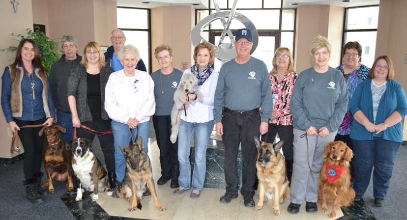 Franciscan-Health-Crown-Point-Pet-Therapy-Program-Notes-Second-Anniversary