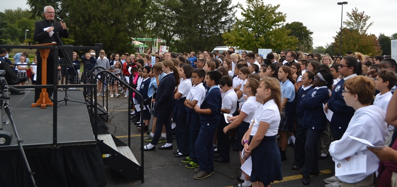 Franciscan Health Dyer: Hundreds of Area Students Attend Respect Life Program