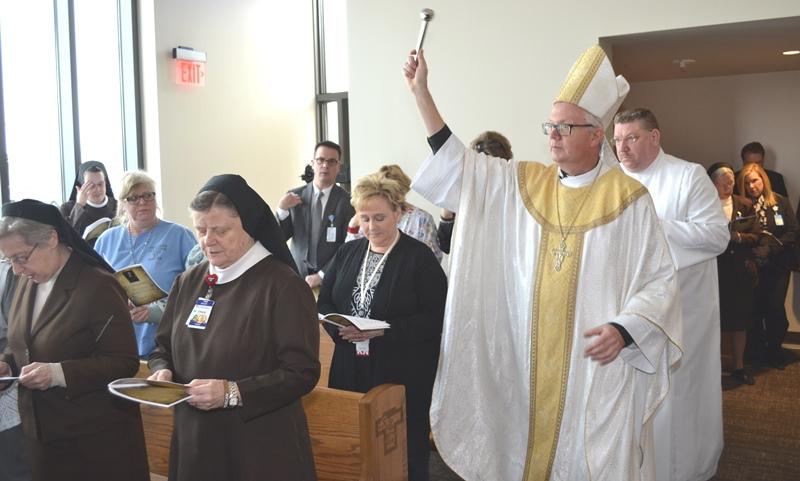 Franciscan-Health-Munster-Bishop-blesses-dedicates-new-hospital-chapel-altar-2016