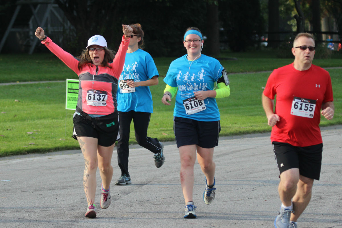 "Franciscan Omni Health & Fitness-Schererville Hosted its Third Annual ""Anyone Can Do a 5k Walk/Run"""